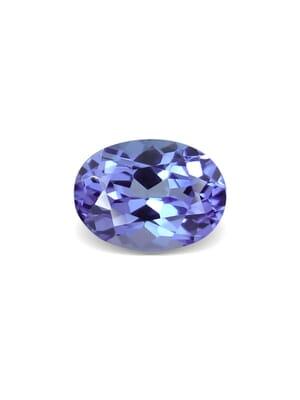 0.78 Carat VVS-Clarity Violet Blue AA Tanzanite