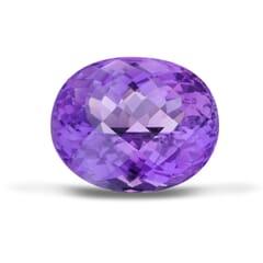 21.70-Carat VVS-Clarity Purple Africa Amethyst