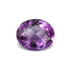 3.48-Carat VVS-Clarity Purple Brazil Amethyst