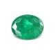 1.73-Carat SI-Clarity Dark Green Zambia Emerald