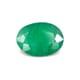 0.64-Carat SI-Clarity Dark Green Zambia Emerald