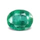 7.48-Carat Transparent-Clarity Intense Green Zambia Emerald