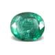 6.62-Carat Transparent-Clarity Intense Green Zambia Emerald