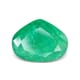 4.39-Carat Transparent-Clarity Columbia Green Zambia Emerald