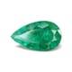 4.66-Carat Transparent-Clarity Dark Green Zambia Emerald