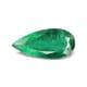 3.58-Carat Transparent-Clarity Dark Green Zambia Emerald