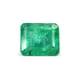 2.70-Carat Transparent-Clarity Dark Green Zambia Emerald