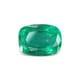 2.50-carat-transparent clarity dark green zambia emerald
