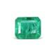 1.25-carat-transparent clarity dark green zambia emerald