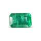 1.40-carat-transparent clarity dark green zambia emerald