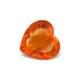 6.54-Carat VVS-Clarity Deep Orange Mexico Fire Opal