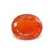 2.74-Carat VVS-Clarity Deep Orange Mexico Fire Opal