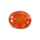 5.14 Carat Transparent with Natural Inclusion-Clarity Deep Orange Mexico Fire Opal