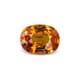 1.39-Carat VVS-Clarity Orange Sapphire
