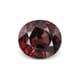 8.10-Carat VVS-Clarity Pinkish Brown Africa Zircon