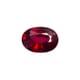 0.80-Carat SI-Clarity Deep Red Burma Ruby