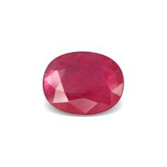 4.93-Carat SI-Clarity Red Burma Ruby