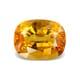 5.80-Carat VVS-Clarity Orangish Yellow Sapphire
