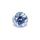 0.79-Carat Flawless-Clarity Cornflower Blue Ceylon Sapphire with Normal Heat treatment No Elements Added
