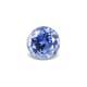 0.84-Carat VVS-Clarity Cornflower Blue Ceylon Sapphire with Normal Heat treatment No Elements Added