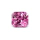0.97-Carat Flawless-Clarity Vivid Pink Ceylon Sapphire with Normal Heat treatment No Elements Added