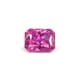 0.79-Carat Flawless-Clarity Vivid Pink Ceylon Sapphire with Normal Heat treatment No Elements Added
