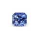 0.73-Carat Flawless-Clarity Deep Blue Ceylon Sapphire with Normal Heat treatment No Elements Added