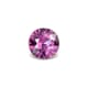 0.50-Carat Flawless-Clarity Vivid Pink Ceylon Sapphire with Normal Heat treatment No Elements Added