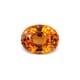4.24-Carat VVS-Clarity Brownish Orange Africa Spessartite Garnet