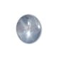 3.44-Carat Transparent Eyeclean-Clarity Gray Burma Star Sapphire