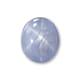 8.53-Carat Translucent-Clarity Gray Burma Star Sapphire