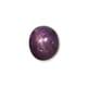 3.82-Carat Transparent-Clarity Purple Burma Star Sapphire
