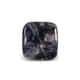 12.30-Carat Translucent-Clarity Blue Gray Burma Trapiche