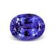 12.19-Carat VVS-Clarity Violet Blue AAA Tanzanite