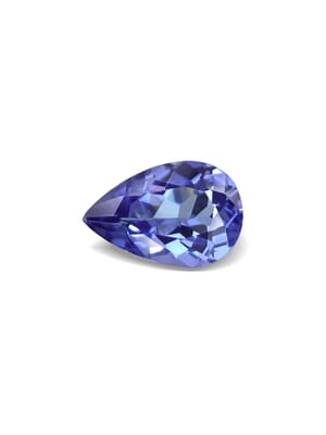 1.11 Carat VVS-Clarity Violet Blue AA+ Tanzanite