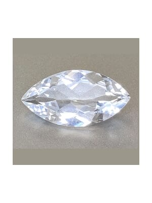 Natural White Topaz Marquise Cut From 4x2 mm to 16x8 mm