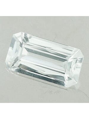Natural White Topaz Octagon Cut From 5x3 mm to 20x15 mm