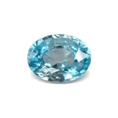 2.37-Carat VVS-Clarity Neon Blue Africa Zircon
