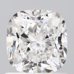 GIA Certified 1.00 Carat E Color VS1 Clarity Cushion Diamond