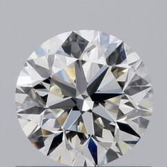 GIA Certified 0.70 Carat J Color VS2 Clarity Round Diamond
