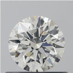 GIA Certified 0.50 Carat I Color VVS2 Clarity Round Diamond