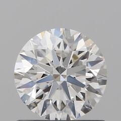 GIA Certified 0.80 Carat F Color VS1 Clarity Round Diamond
