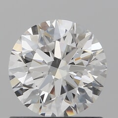 GIA Certified 0.80 Carat E Color VS2 Clarity Round Diamond