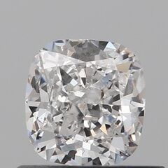 GIA Certified 0.61 Carat E Color VS2 Clarity Cushion Diamond