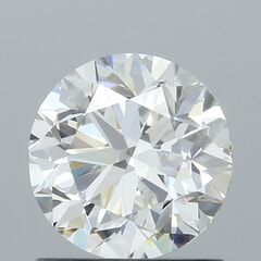 GIA Certified 1.01 Carat G Color VS1 Clarity Round Diamond