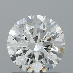 GIA Certified 1.03 Carat I Color VS1 Clarity Round Diamond