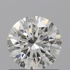 GIA Certified 0.80 Carat H Color VVS2 Clarity Round Diamond