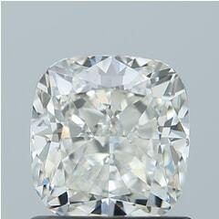 GIA Certified 1.01 Carat H Color VVS2 Clarity Cushion Diamond