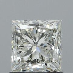 GIA Certified 1.00 Carat K Color VVS2 Clarity Princess Diamond