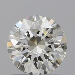 GIA Certified 1.01 Carat K Color VVS1 Clarity Round Diamond